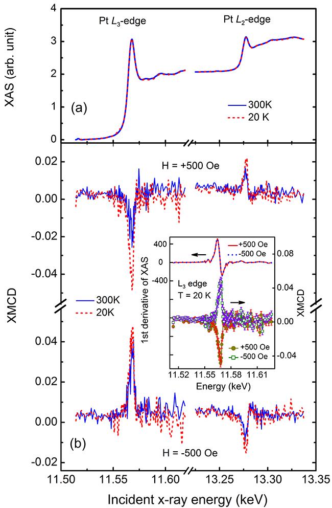 Pt薄膜磁近邻效应研究取得新进展