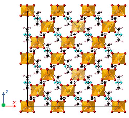金属-有机骨架中的共振量子磁电耦合效应